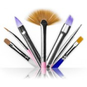 Gel Brushes (6)