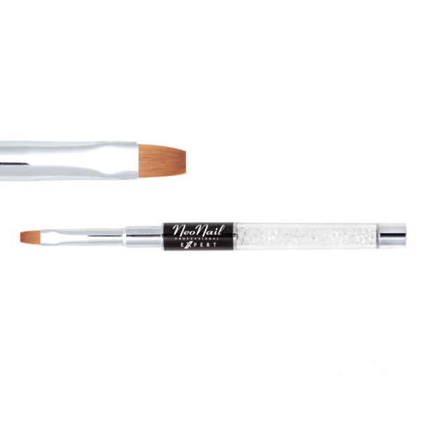 Gel Brush NeoNail Expert - Gel Brush Flat 04