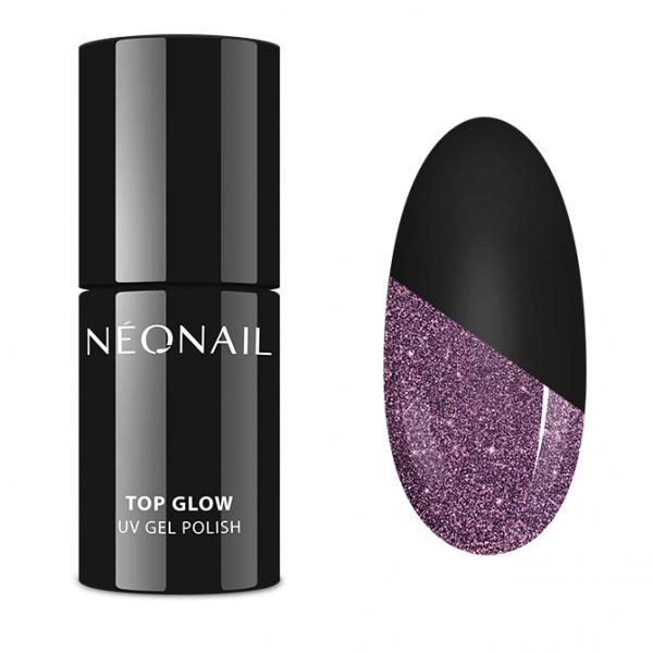 UV NAIL GEL POLISH - Top Glow Sparkling